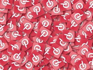 Pinterest social platform for digital marketing specialists.
